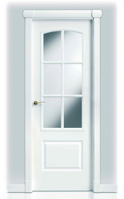 Puerta lacada en blanco sanrafael 9270ar - Puerta lacada en blanco ...