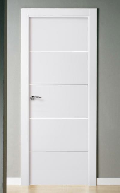 Puerta lacada en blanco pantografic 02 - Puertas lacadas blancas ...