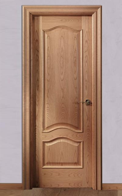 Puerta barnizada en madera doble provenzal tm for Puerta de madera doble estilo antiguo