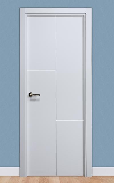 Puerta lacada en blanco pantografic 25 - Puertas de interior lacadas en blanco precios ...