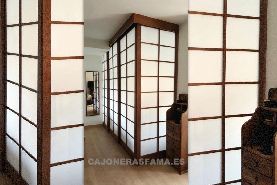 Paneles y puertas japonesas estilo shoji - Puertas correderas japonesas ...